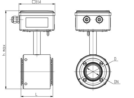 Многоканальный теплосчетчик ТЭМ-104
